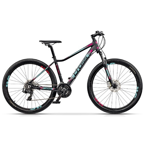 "Cross CAUSA SL1 27.5"" Black-Mint-Pink"