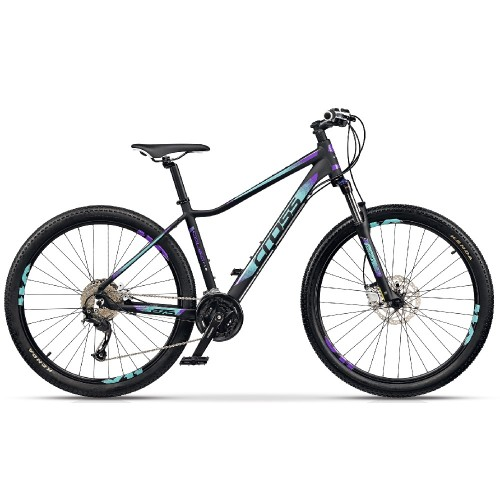 "Cross CAUSA SL3 27.5"" Black-Mint-Purple"