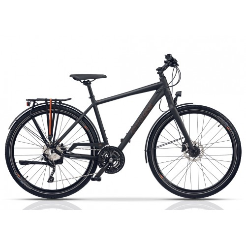 "Cross Quest Gent Trekking 28"" Black"
