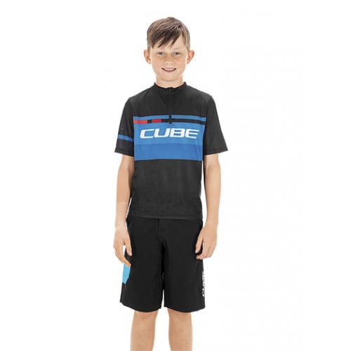 Μπλούζα με κοντό μανίκι Cube Junior Teamline Jersey S/S - 10990
