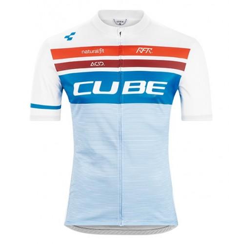 Μπλούζα με κοντό μανίκι Cube Teamline Jersey 2020 S/S - 11156