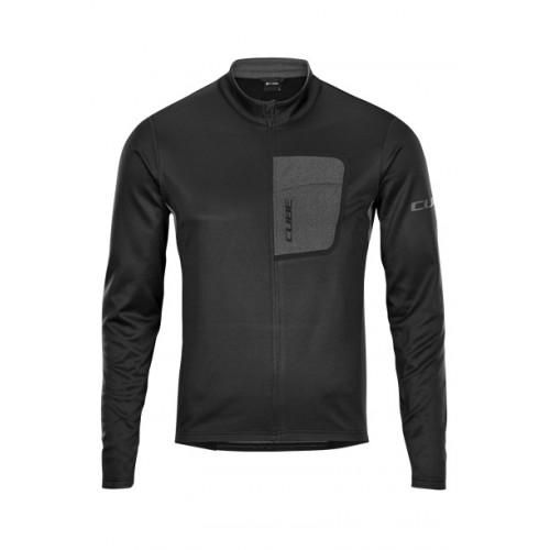 Μπλούζα με μακρύ μανίκι Cube ATX Jersey Full Zip L/S -11471