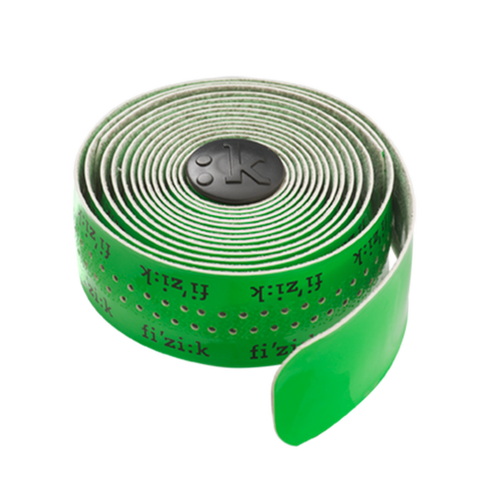 Ταινία τιμονιού Fizik Superlight Classic Touch - Fluo Green with logos