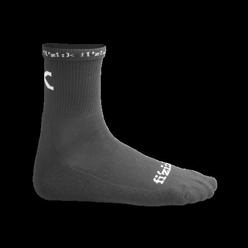Καλοκαιρινές κάλτσες Fizik Cycling Socks Black/White