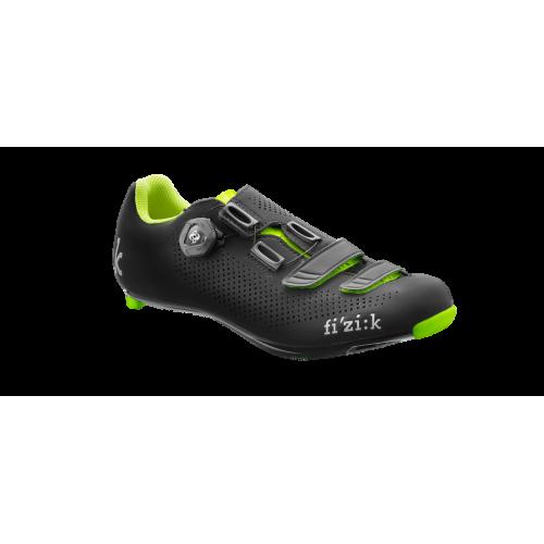 Παπούτσια Fizik R4B Uomo - Black Yellow
