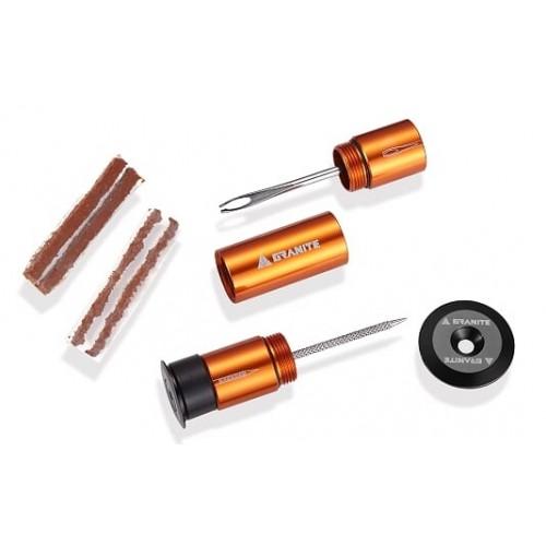 Εργαλείο GRANITE STASH Tire Plug (Κίτ επισκευής ελαστικού tubeless για τοποθέτηση στην χειρολαβή)