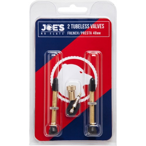 Joe's Tubeless French/Presta Valve 48 mm (Bαλβίδες)