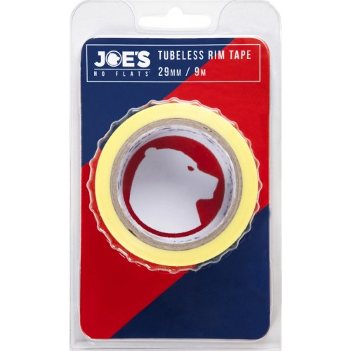 Joe's Tubeless Yellow Rim Tape 9m x 33 mm