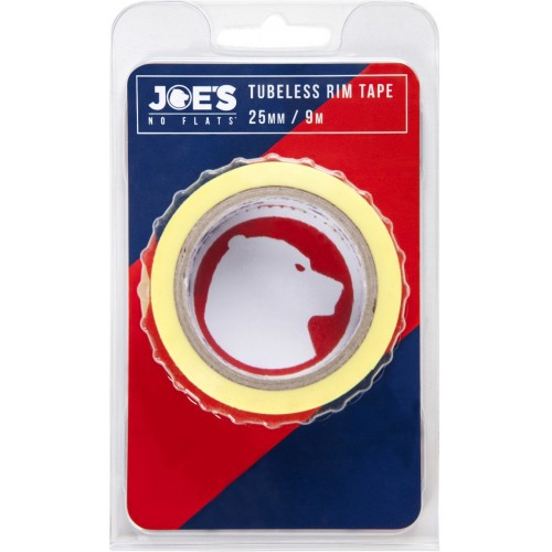 Joe's Tubeless Yellow Rim Tape 9m x 25 mm