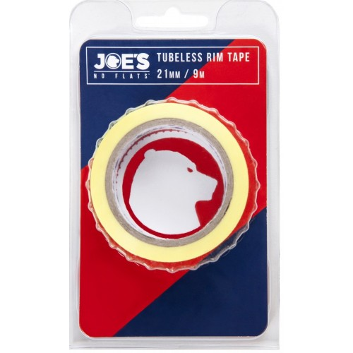 Joe's Tubeless Yellow Rim Tape 9m x 21 mm