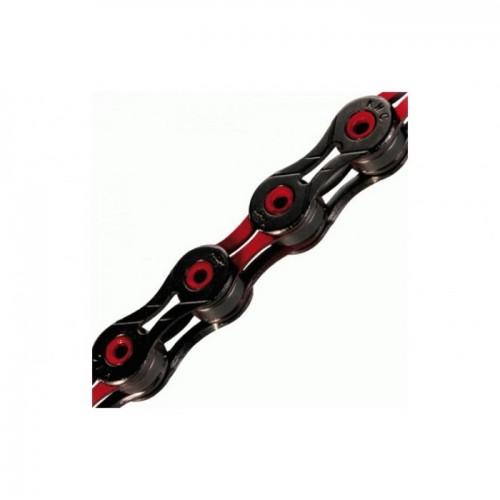Αλυσίδα KMC DLC 11 Black - Red