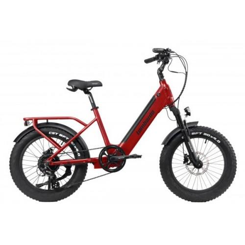 "Lombardo Aurelia Compact E-Bike 20"" Red Glossy"