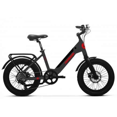 """Lombardo Aurelia Compact E-Bike 20"""" Titanium Matt"""