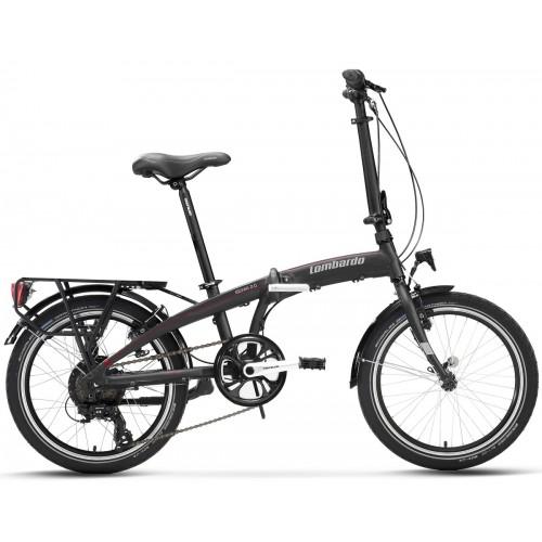"Lombardo Ischia E-Bike 20"" Titanium Matt"