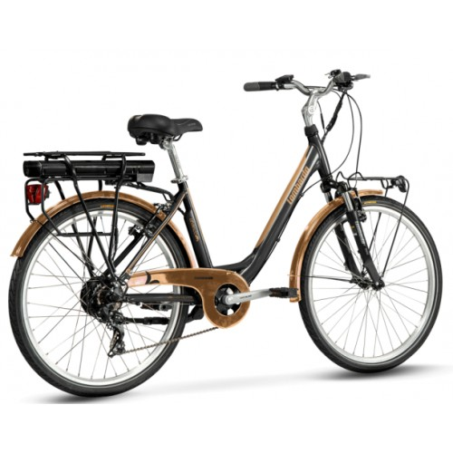 """Lombardo Levanzo Sport E-Bike 26"""" Black/Copper Matt"""