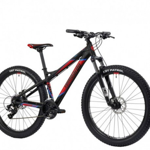"Lombardo Mozia 27.5"" Black-Red-Sky Blue Matt"