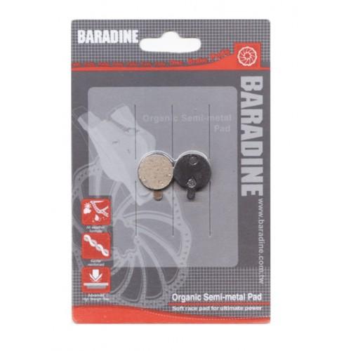 Τακάκια δισκοφρένων Baradine - DS-23 (Zoom Mechanical)