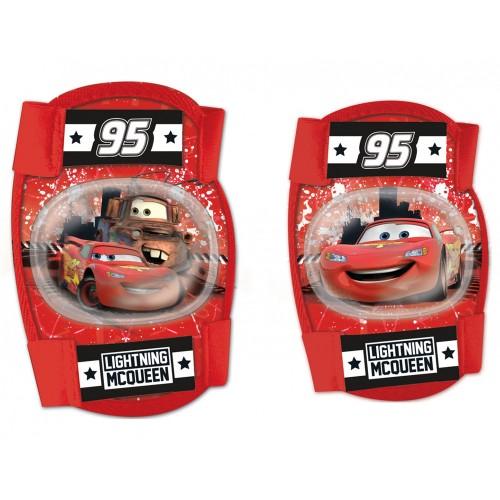 Σετ προστατευτικών αξεσουάρ για παιδια Disney Cars (Επιαγκωνίδες - Επιγονατίδες)