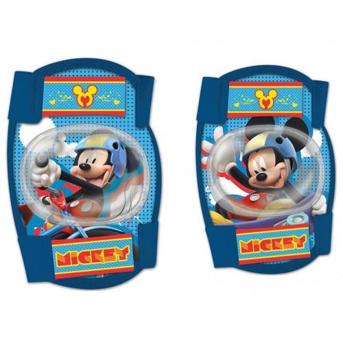 Σετ προστατευτικών αξεσουάρ για παιδια Disney Mickey (Επιαγκωνίδες - Επιγονατίδες)