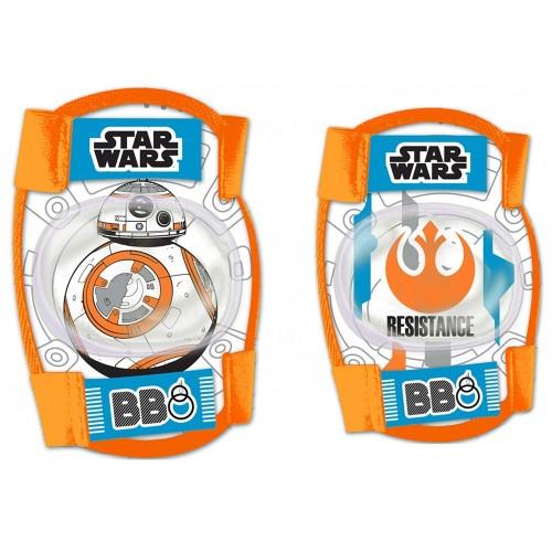 Σετ προστατευτικών αξεσουάρ για παιδια Disney Star Wars BB8 (Επιαγκωνίδες - Επιγονατίδες)