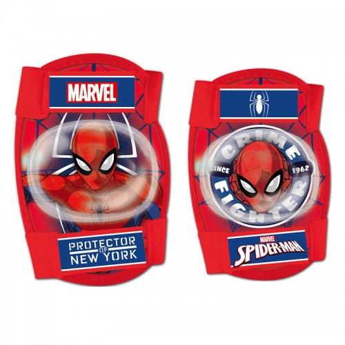 Σετ προστατευτικών αξεσουάρ για παιδια Disney Spiderman (Επιαγκωνίδες - Επιγονατίδες)
