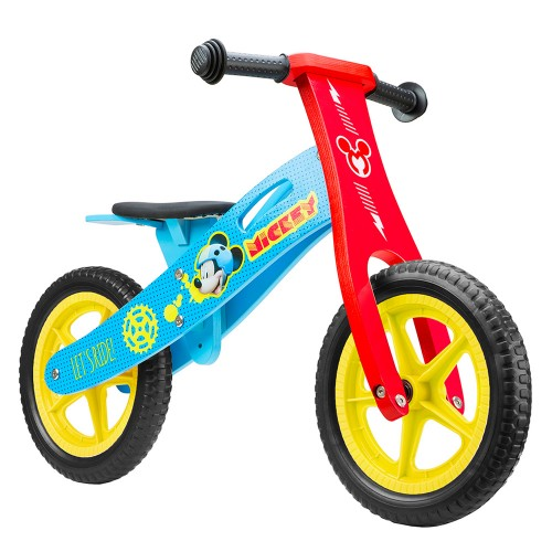 Ποδήλατο ισορροπίας Disney ξύλινο Mickey