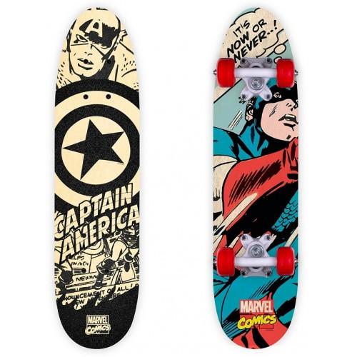 Πατίνι ξύλινο (Skateboard) Captain America