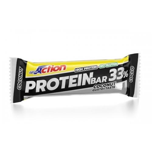 ProAction Protein Bar 33% -Σοκολάτα/Καρύδα
