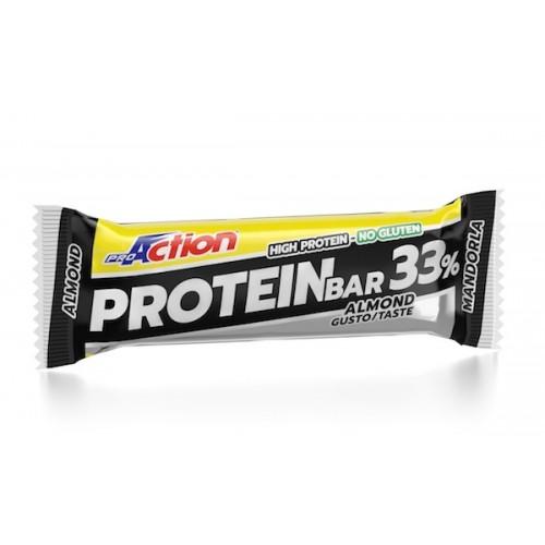 ProAction Protein Bar 33% - Σοκολάτα/Αμύγδαλο
