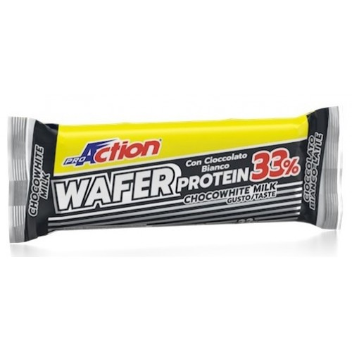 ProAction Wafer Protein Bar  - Λευκή Σοκολάτα Γάλακτος