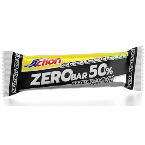 ProAction Zero Bar 50% - Κρέμα Φουντουκιού