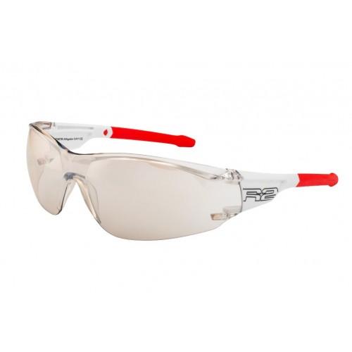 """Γυαλιά Ποδηλασίας R2 """"ALLIGATOR"""" - Άσπρο/Κόκκινο"""