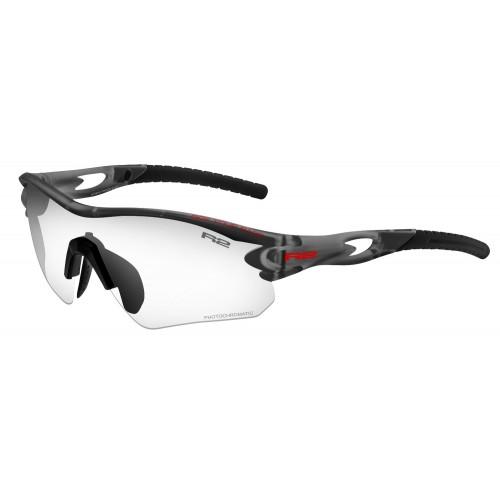 """Γυαλιά Ποδηλασίας R2 """"PROOF"""" - Μαύρο Matt με φωτοχρωμικους φακούς"""