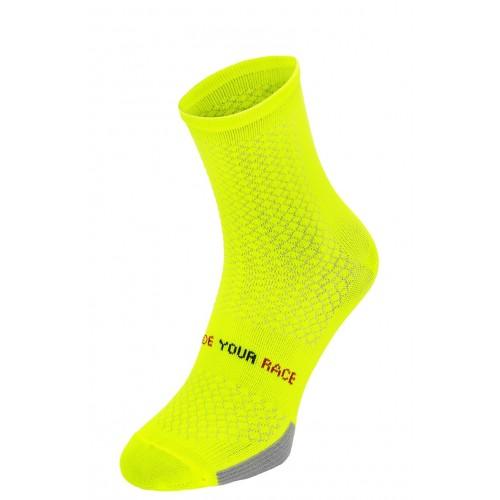 ENDURANCE. R2 κάλτσες Fluo Κίτρινο