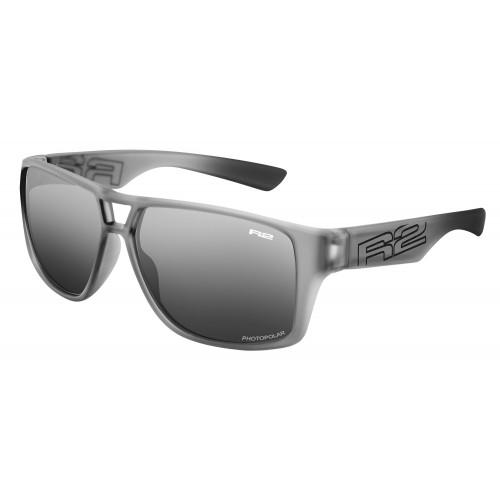 """Γυαλιά Ποδηλασίας R2 """"MASTER"""" - Γκρί New με φωτοχρωμικούς - Polarized φακούς"""