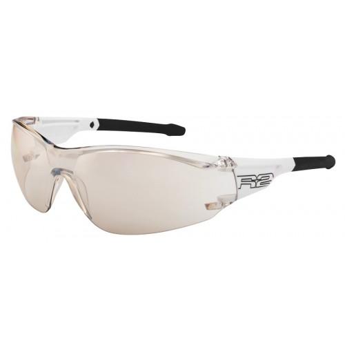 """Γυαλιά Ποδηλασίας R2 """"ALLIGATOR"""" - Άσπρο/Μαύρο"""