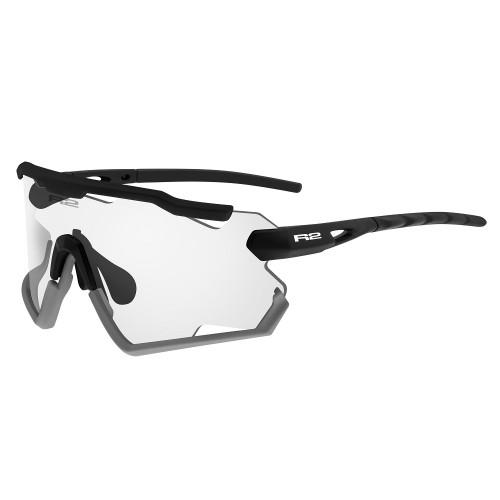 """Γυαλιά Ποδηλασίας R2 """"DIABLO"""" - Μαύρο Matt με Φωτοχρωμικούς Φακούς"""