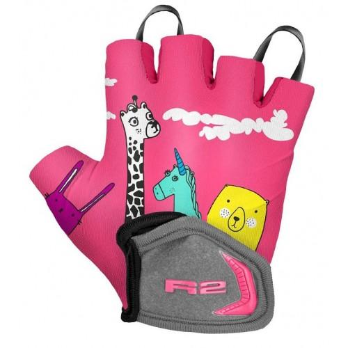 Γάντια R2 VOSKA - Ρόζ