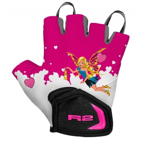 Γάντια R2 VOSKA - Ρόζ/Άσπρο
