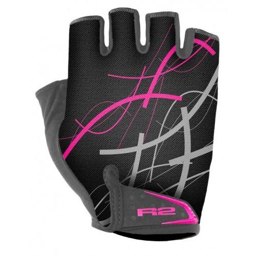 Γάντια R2 EASER - Μαύρο/Ρόζ