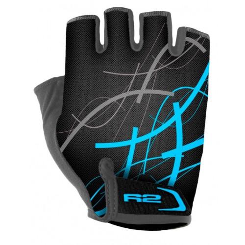 Γάντια R2 EASER - Μαύρο/Μπλέ