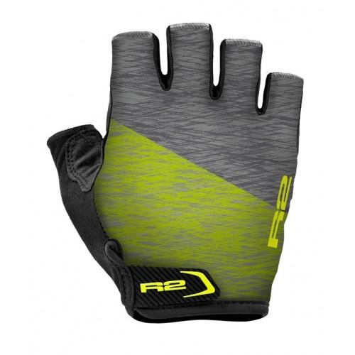 Γάντια R2 SPIKE - Γκρί/Fluo Κίτρινο
