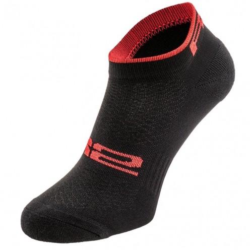 TOUR. R2 κάλτσες Μαύρες/Κόκκινες