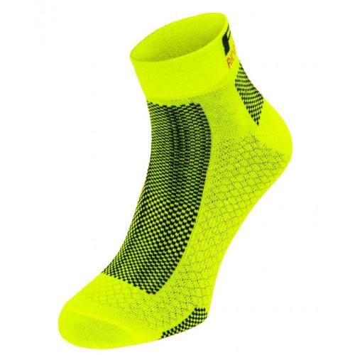 EASY. R2 κάλτσες Fluo Κίτρινο/Μαύρο
