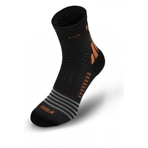 MISSION. R2 κάλτσες Μαύρες/Καφέ