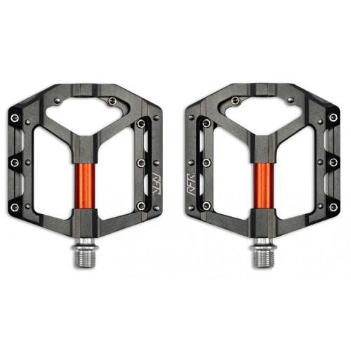 Πετάλια RFR Flat SLT 2.0 Grey 'n' Orange - 14381