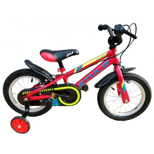 """Παιδικό ποδήλατο 12"""" Style Challenger ΙΙ - Κόκκινο 2020"""