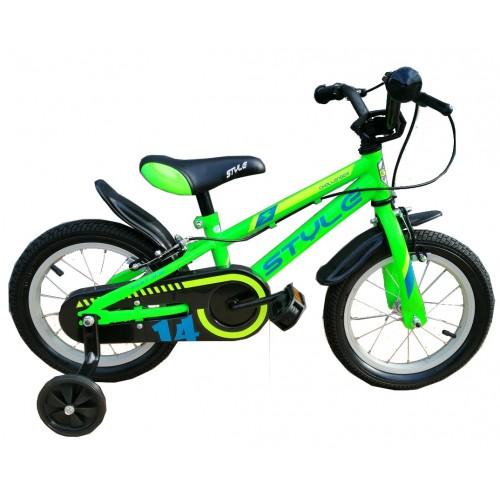 """Παιδικό ποδήλατο 12"""" Style Challenger ΙΙ - Πράσινο 2020"""