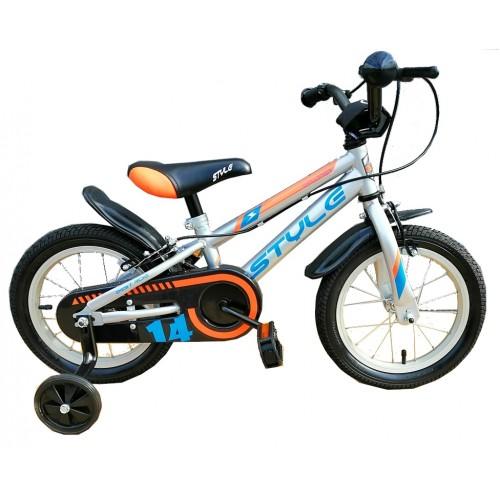 """Παιδικό ποδήλατο 12"""" Style Challenger ΙΙ - Ασημί 2020"""