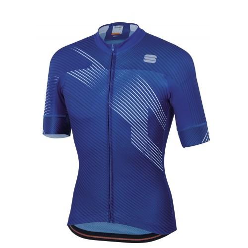 Μπλούζα με κοντό μανίκι Sportful BFT 2.0 Faster Jersey S/S - Blue